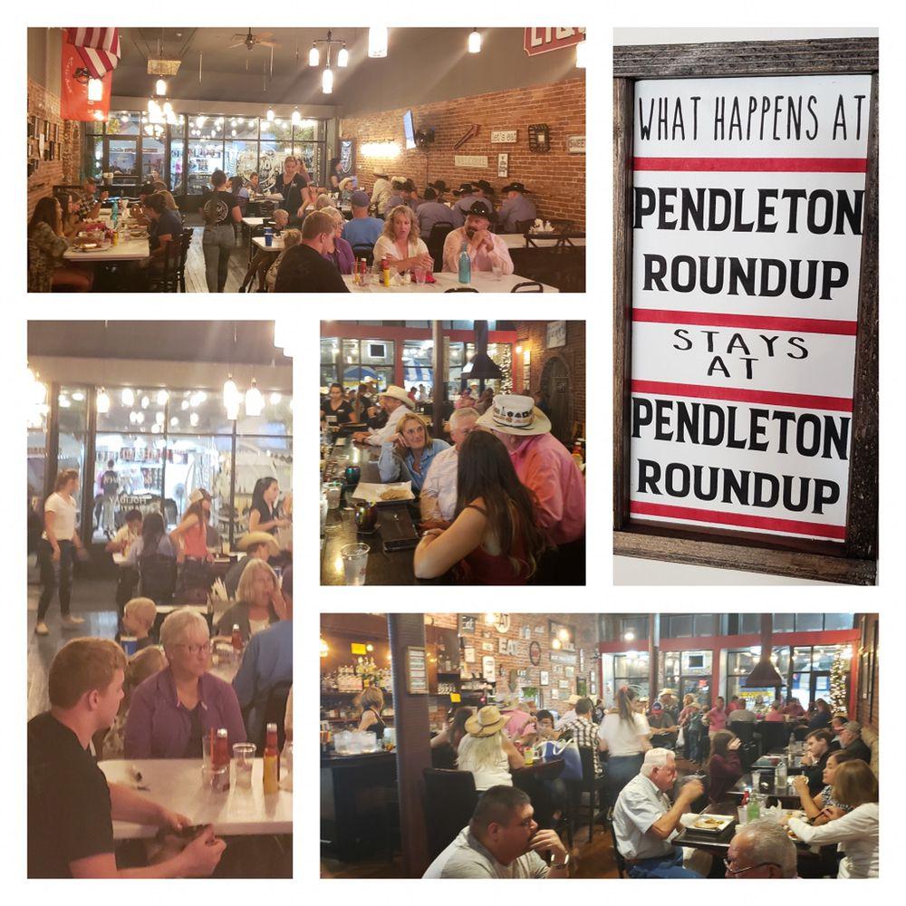 OMG! Burgers & Brew: 241 S Main St, Pendleton, OR