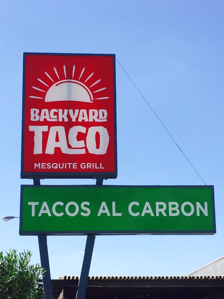 photo of backyard taco mesa az united states