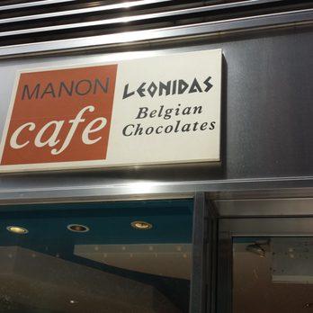 Manon Cafe Leonidas New York Ny
