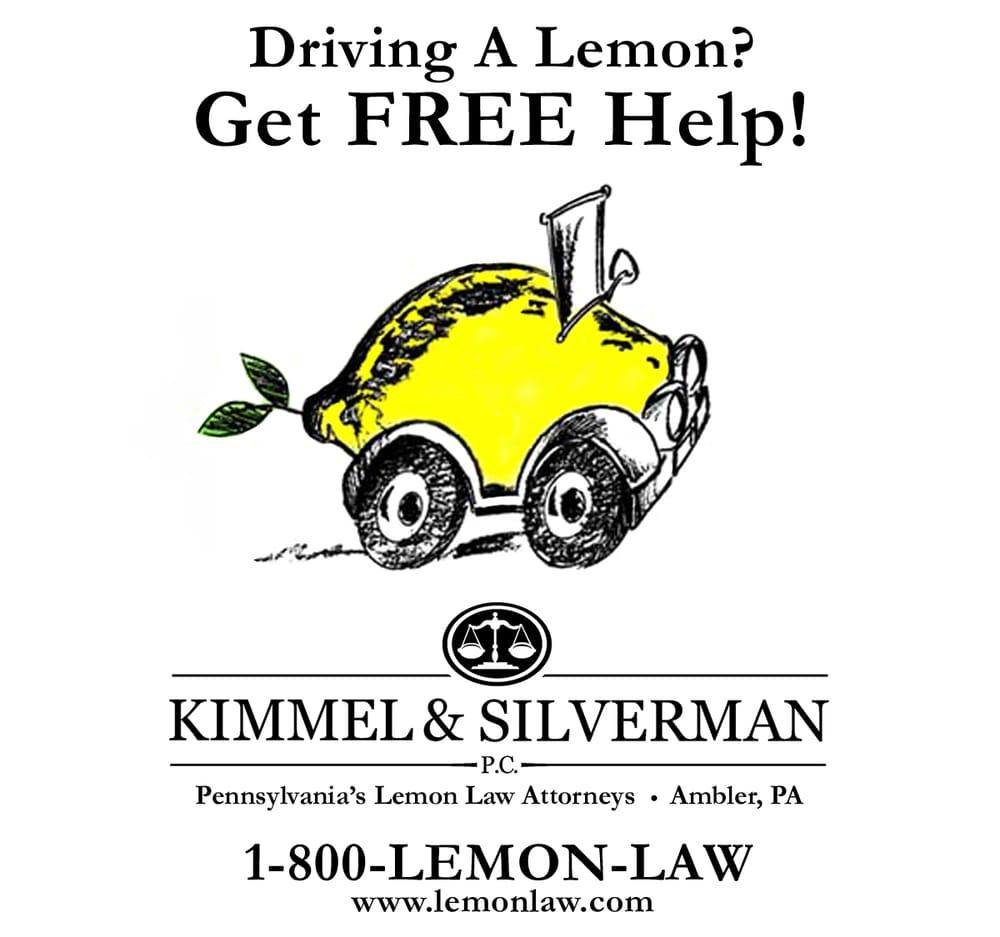 Pa Lemon Law Used Car >> Kimmel Silverman Pc 23 Reviews Lawyers 30 E Butler Ave