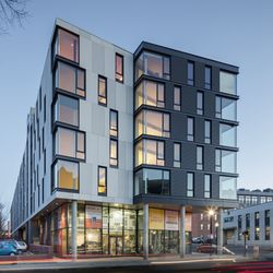 Photo Of Girard Apartments   Boston, MA, United States. Beautifully  Designed Exterior With