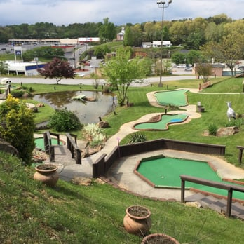 Photo Of Tropical Gardens Mini Golf   Asheville, NC, United States.  Ashevilles Finest