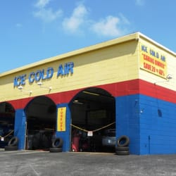 Ice Cold Air Discount Auto Repair logo