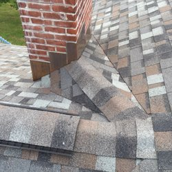 Photo Of Brown Roofing Company   Beacon Falls, CT, United States. Cricket  Installed