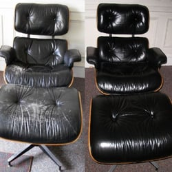 Photo Of Total Leather Care   Horsham, PA, United States. Eames Chair