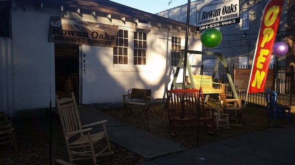 Rowan Oaks Furniture And Painting, LLC 4417 Bienville St New Orleans, LA  Furniture Stores   MapQuest