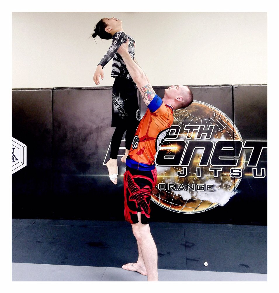 10th Planet Jiu Jitsu-Orange