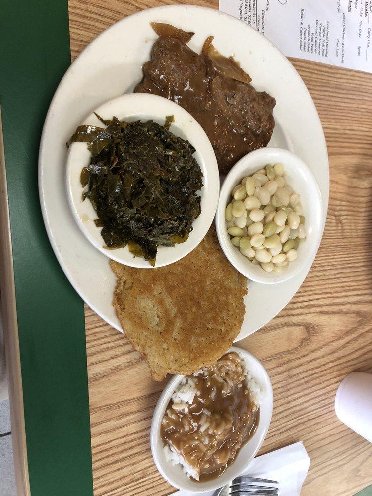 Cornbread Cafe: 637 E Court St, Wrightsville, GA