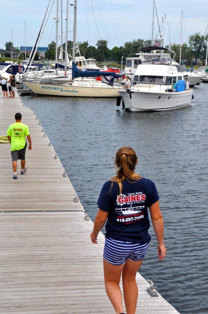 Gaines Marina: 141 Lake St, Rouses Point, NY