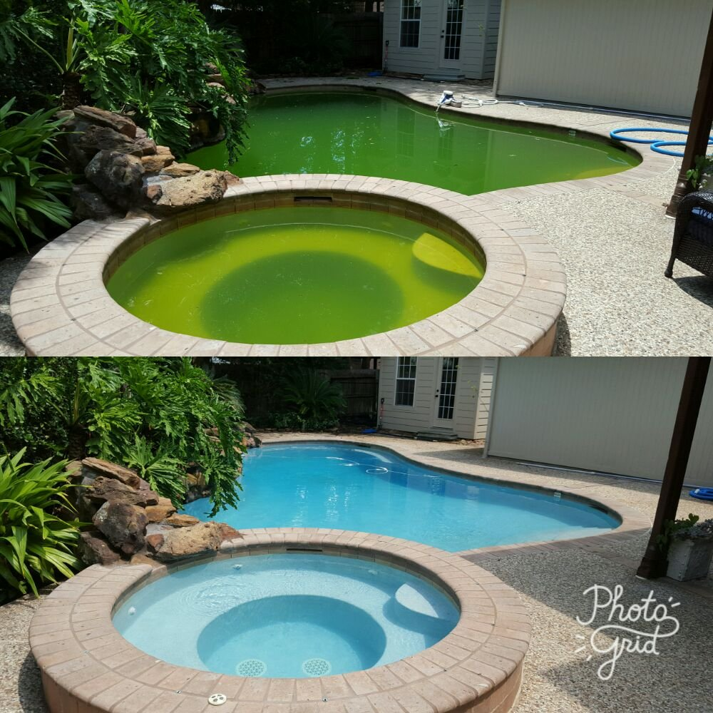 Pool Cleaning Before And After : Before and after an acid wash yelp