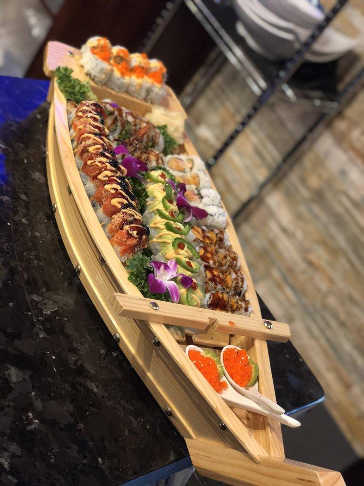 Food from Yaba Sushi & Steak House