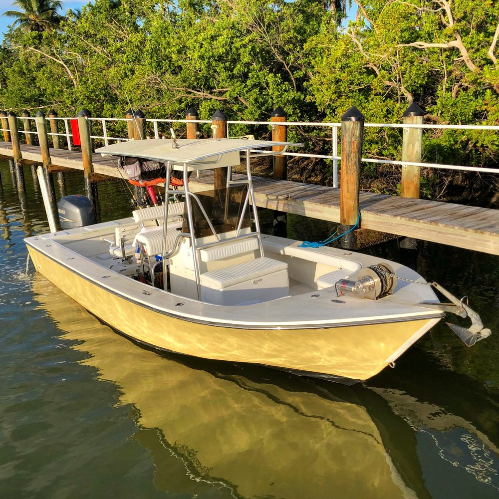 Native guided fishing charters: Goodland, FL