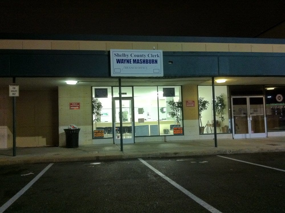 Shelby County Clerk Office - Poplar Plaza - Departments of Motor ...