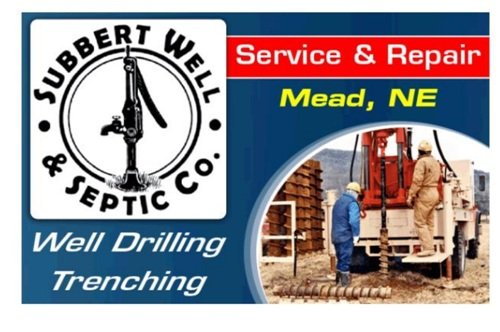 Subbert Well & Septic: 1012 County Rd M, Mead, NE