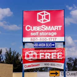 CubeSmart Self Storage   Request A Quote   Self Storage   450 Ansin  Boulevard, Hallandale, FL   Phone Number   Yelp
