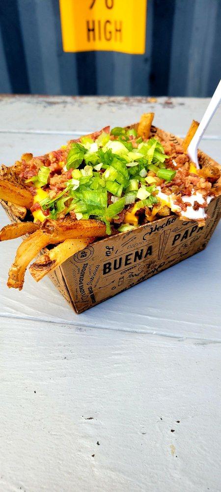 Food from Buena Papa Fry Bar