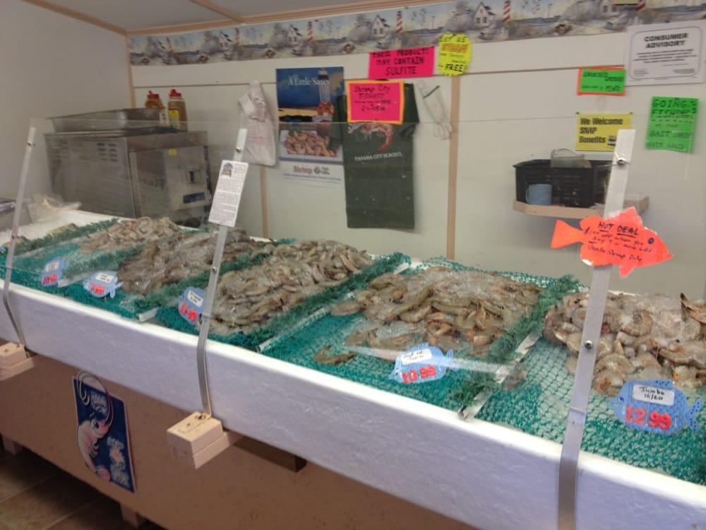 Shrimp city seafood markets 3016 thomas dr panama for Fish market panama city beach
