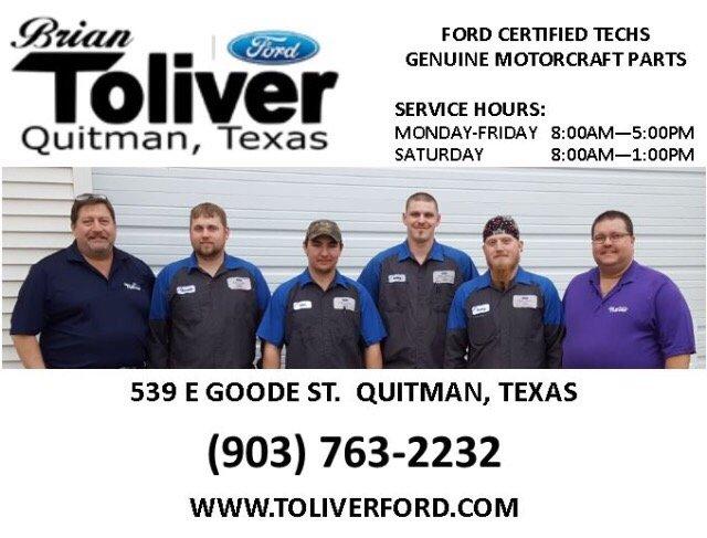 Brian Toliver Ford >> Brian Toliver Ford Of Quitman 10 Photos Car Dealers 539 E