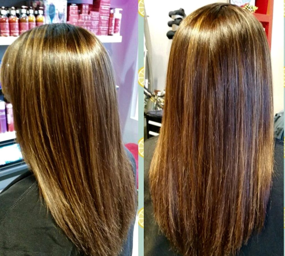 Amanda Did Corrective Haircolor To Balance Out Over Highlighted Hair