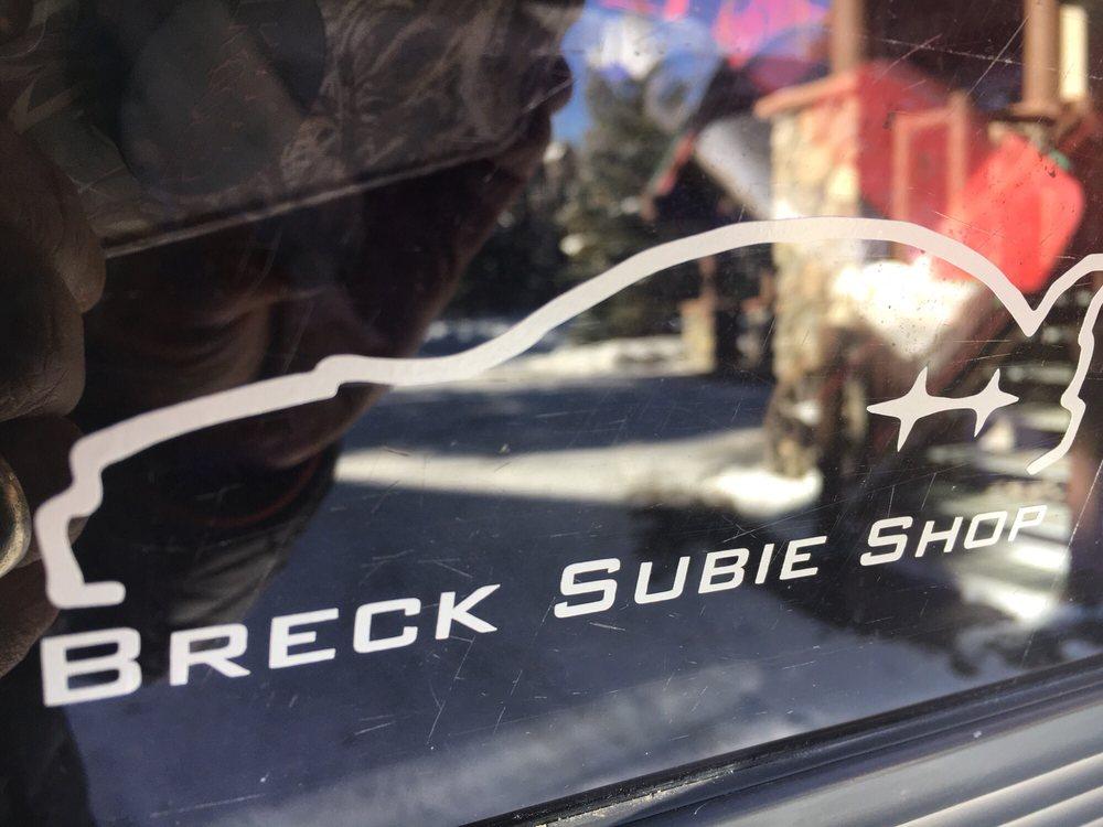 Breck Subie Shop: 156 County Rd 450, Breckenridge, CO