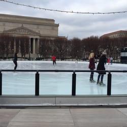 National Gallery Of Art Sculpture Garden Ice Rink 229 Fotos Pistas De Patinaje