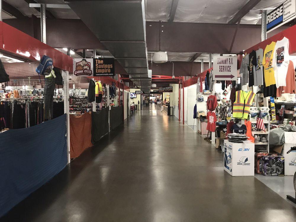 Caesar Creek Flea Market: 7763 Oh-73, Wilmington, OH
