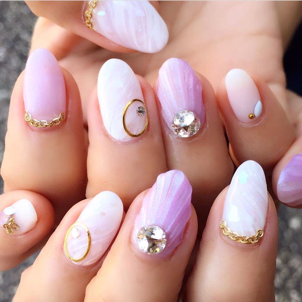 Who's Next To Try Out These Lovely Mermaid Nails. For An