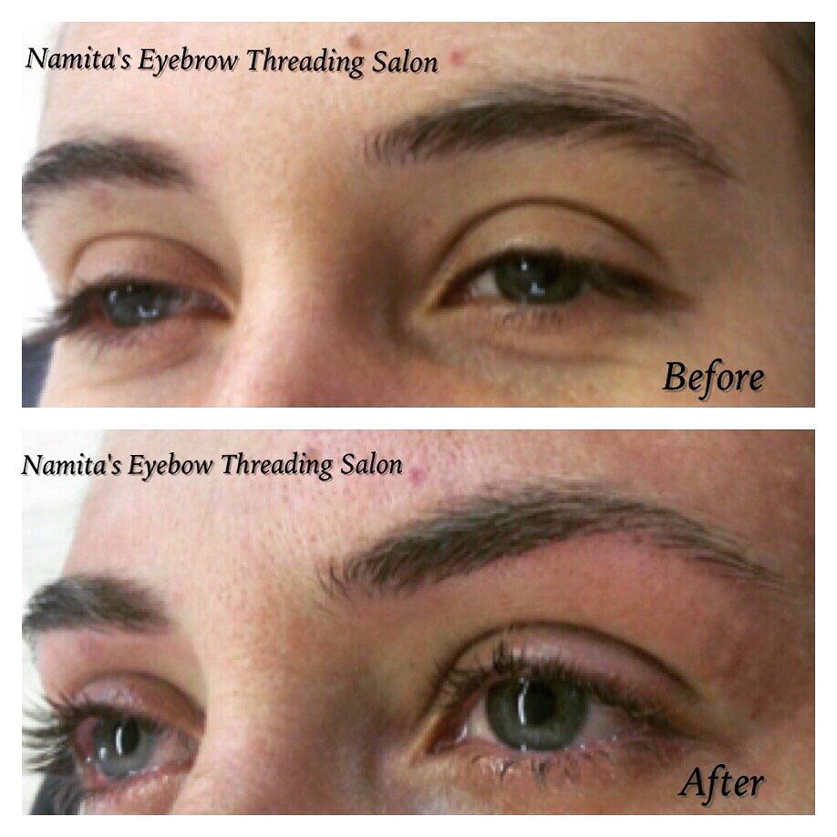 Eyebrow Threading One And Only Namitas Eyebrow Threading Salon