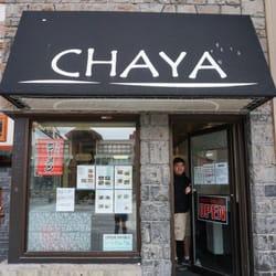 Chaya Japanese Restaurant Banff