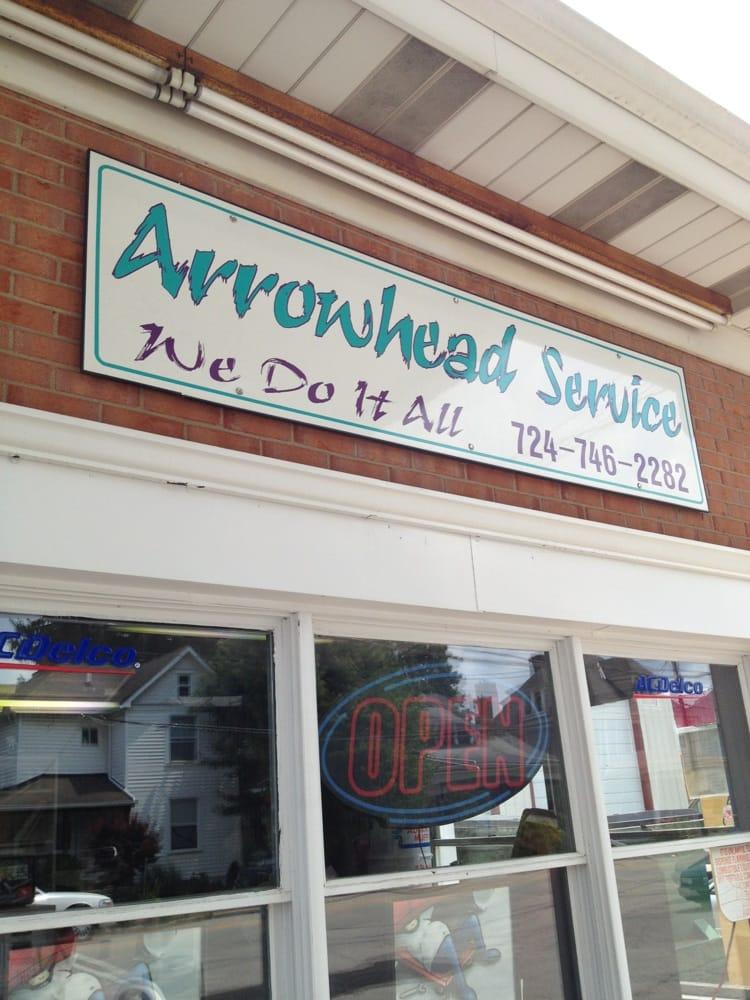Arrowhead Service Station: 405 W Pike St, Houston, PA