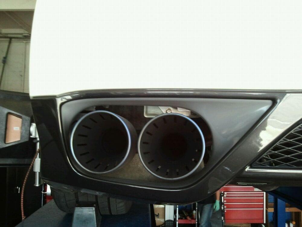 Mercedes C63 AMG install long tube header  - Yelp
