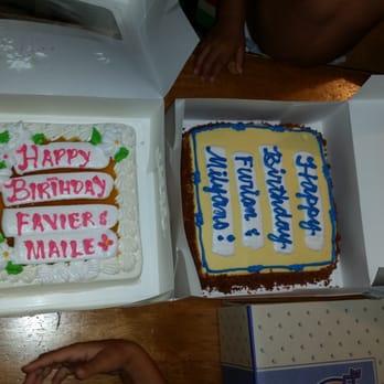 Honolulu Bakeries Birthday Cakes