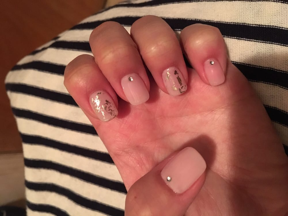 Gel Nail Extensions With Designs So Natural And Pretty Yelp