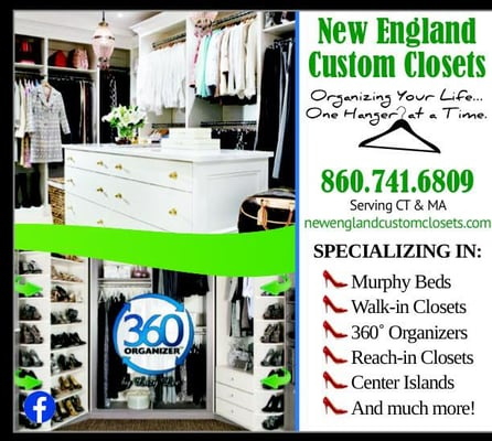 Photo Of New England Custom Closets   Enfield, CT, United States. New  England