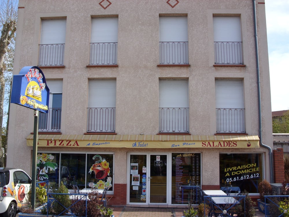 oh fada pizza 108 rue louis plana soupetard. Black Bedroom Furniture Sets. Home Design Ideas