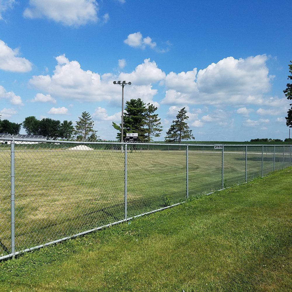 Frontier Ballpark: Park St, Brookston, IN