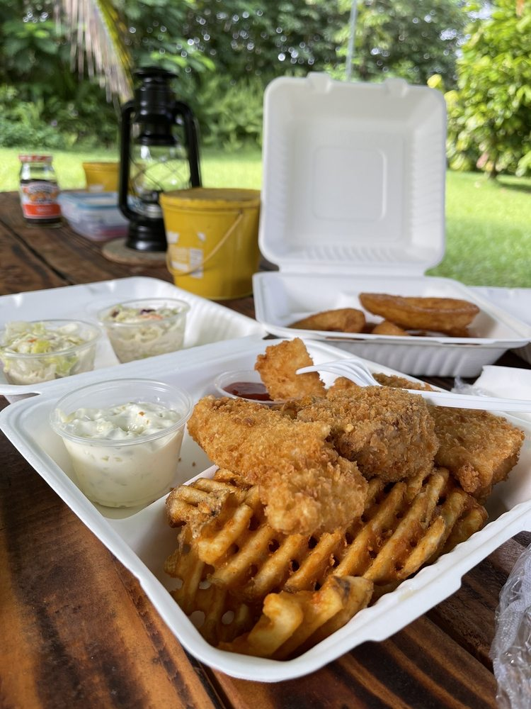 Pahoa Fresh Fish: 15-2670 Pahoa Village Rd, Pahoa, HI