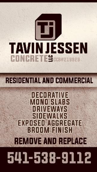 Tavin Jessen Concrete: Eagle Point, OR