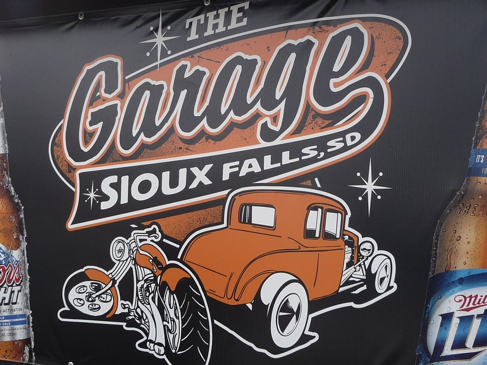 The Garage Bar: 2400 W Madison St, Sioux Falls, SD