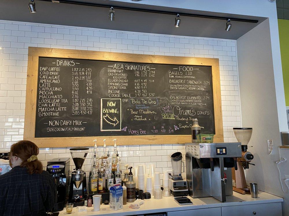 Anchor & Anvil Coffee Bar: 7221 Church Ave, Ben Avon, PA