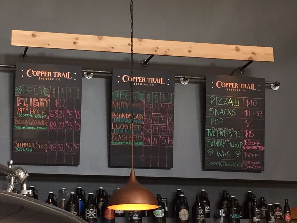 Copper Trail Brewing Co: 205 Broadway St, Alexandria, MN