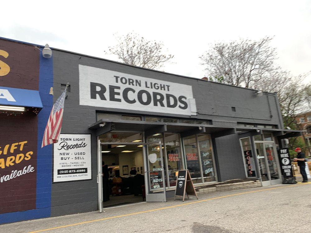 Torn Light Records: 356 Ludlow Ave, Cincinnati, OH