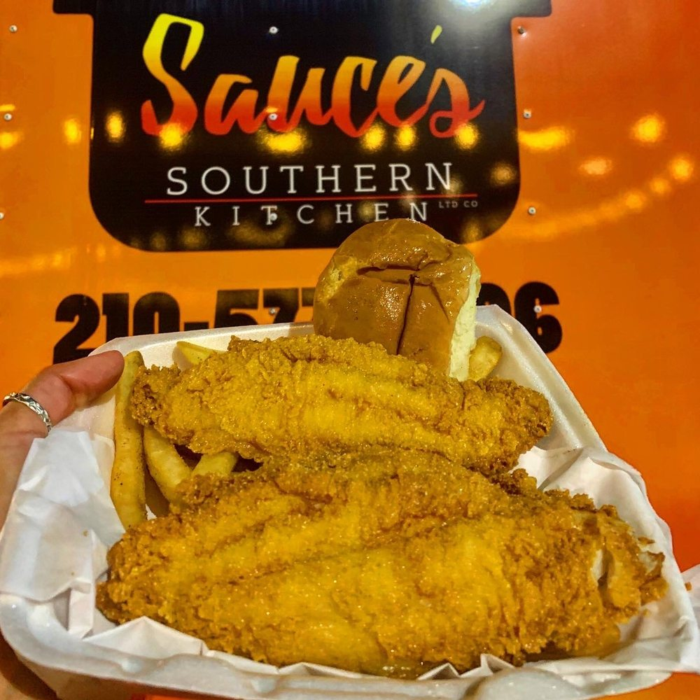 Sauce's Southern Kitchen Food Truck & Catering: 1916 Austin Hwy, San Antonio, TX
