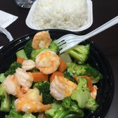 Beautiful Photo Of Rice Kitchen   Houston, TX, United States. Shrimp With Broccoli And