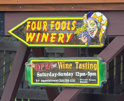 Four Fools Winery: 13 Pacific Ave, Rodeo, CA
