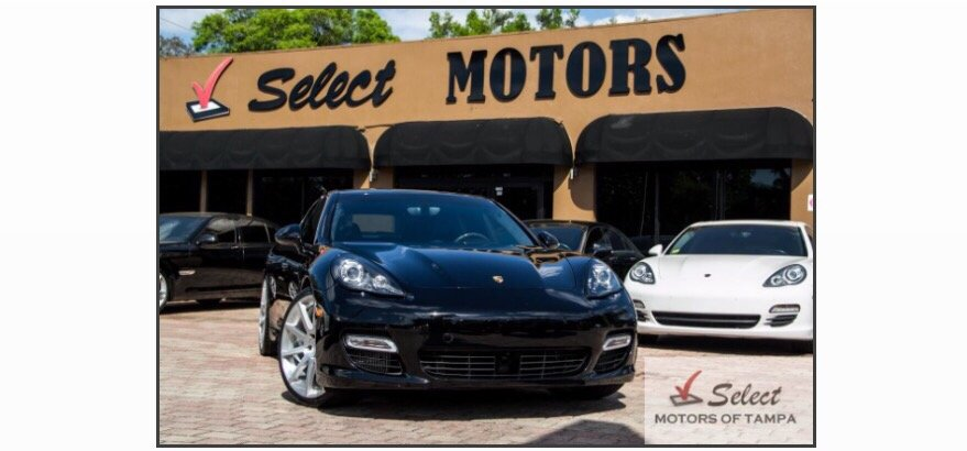 this is my hot new ride porsche select motors of tampa
