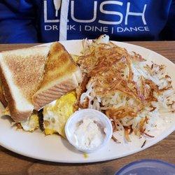 Photo Of Coffee Cup Saint Paul Mn United States Gyro Breakfast Sandwich