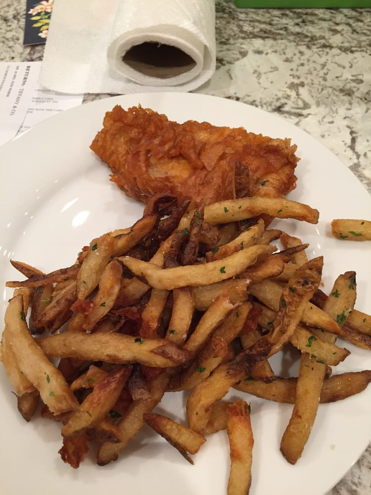 This is their fish and chips 16 for one piece of fish for Piece of fish