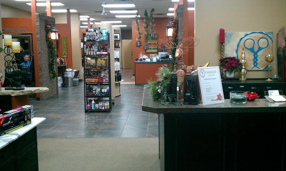 Tangled Salon & Spa: 209 2nd St, Hudson, WI