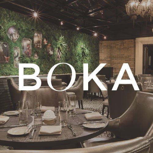 Boka: 1729 N Halsted St, Chicago, IL